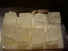 丸氷の作り方